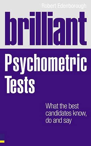 Brilliant Psychometric Tests By Robert Edenborough