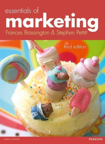 Essentials of Marketing By Dr. Frances Brassington