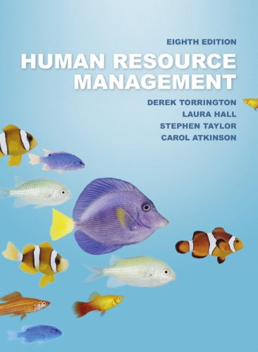 Human Resource Management By Derek Torrington