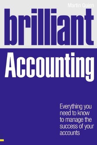 Brilliant Accounting By Martin Quinn