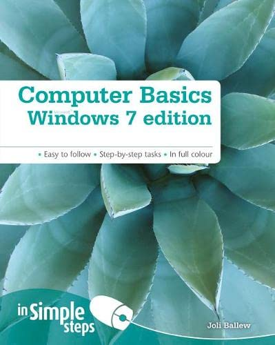 Computer Basics Windows 7 Edition In Simple Steps By Joli Ballew