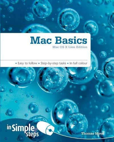 Mac Basics In Simple Steps By Tom Myer