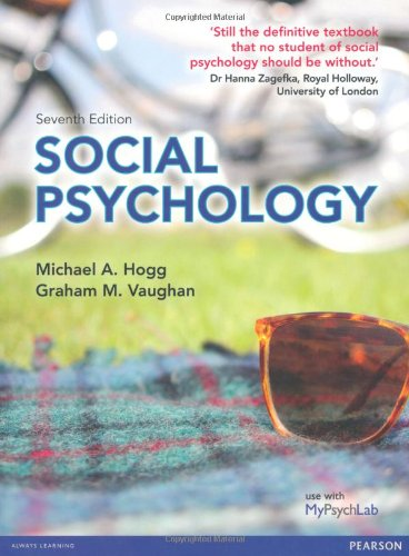 Social Psychology By Michael A. Hogg