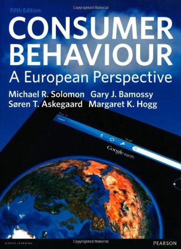 Consumer Behaviour By Michael R. Solomon