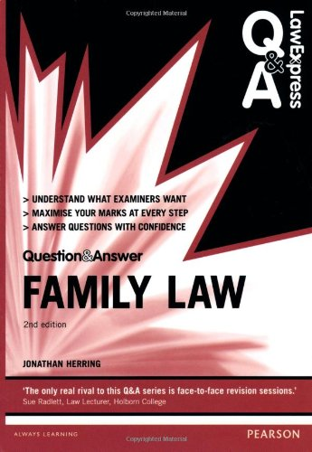 Law Express Question and Answer: Family Law (Law Express Questions & Answers) By Jonathan Herring