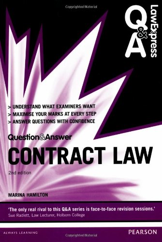 Law Express Question and Answer: Contract Law (Law Express Questions & Answers) By Marina Hamilton