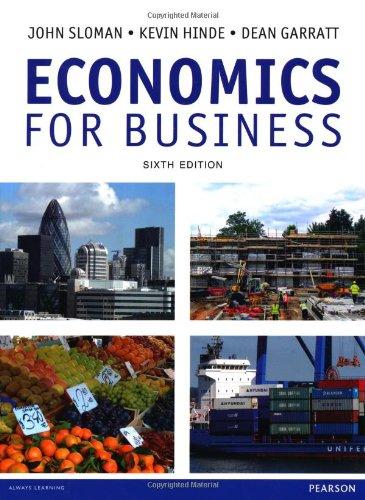 Economics for Business By John Sloman