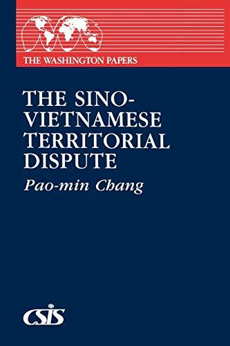 Sino-Vietnamese Territorial Dispute By Pao-min Chang