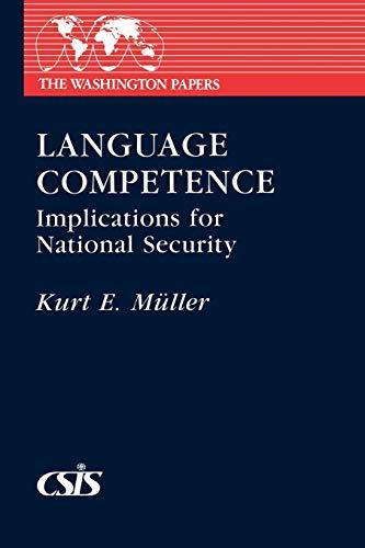 Language Competence By Kurt E. Muller