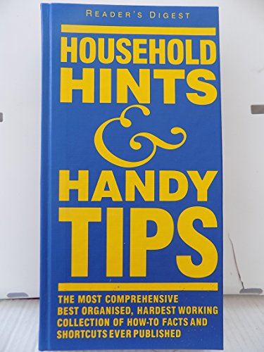 """Reader's Digest"" Household Hints, Handy Tips By Anon"
