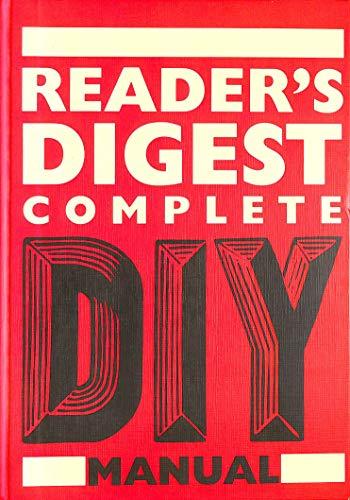 Complete DIY Manual By Reader's Digest