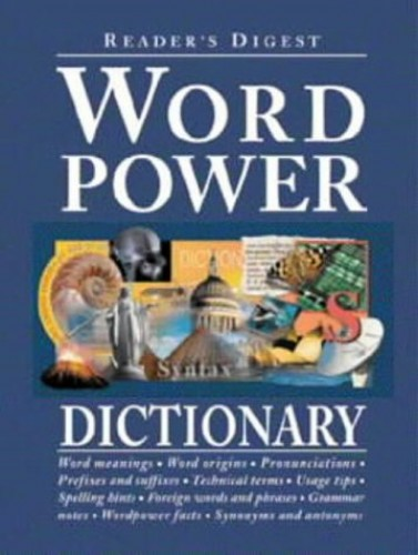Word Power Dictionary By Reader's Digest
