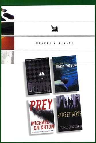 Reader's Digest Condensed Books: The Vanished Man, Don't Look Back, Prey, Street Boys
