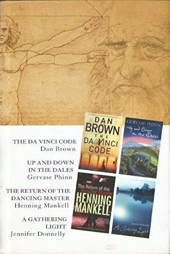 READER'S DIGEST 4 IN 1 CONDENSED BOOKS THE DA VINCI CODE, UP AND DOWN IN THE DALES, THE RETURN OF THE DANCING MASTER, A GATHERING LIGHT By Dan Brown