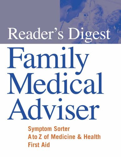 """Reader's Digest"" Family Medical Adviser By Reader's Digest"