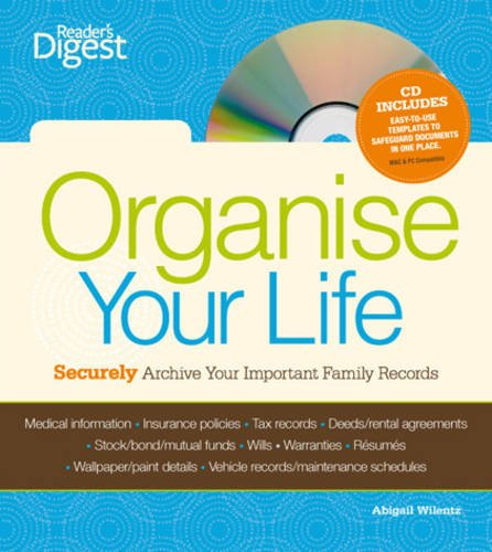 Organise Your Life By Reader's Digest