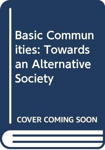 Basic Communities By David B. Clark