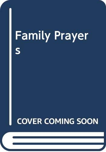 Family Prayers By Edited by Frank Colquhoun