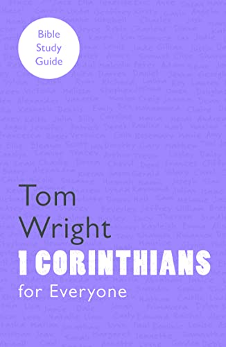For Everyone Bible Study Guides By Tom Wright