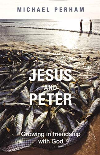 Jesus and Peter By Michael Perham