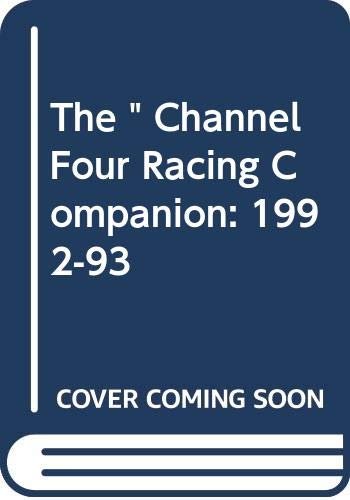 """The """" Channel Four Racing Companion By Edited by Sean Magee"""