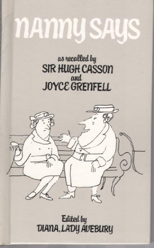 Nanny Says By Sir Hugh Casson