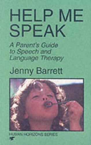 Help Me Speak By Jenny Barrett
