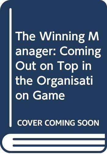 The Winning Manager By R.G.L.Von Zugbach