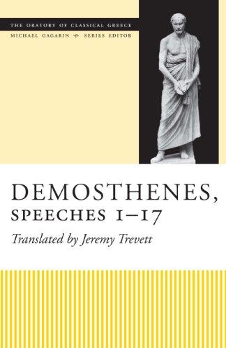 Demosthenes, Speeches 1-17 By Jeremy Trevett