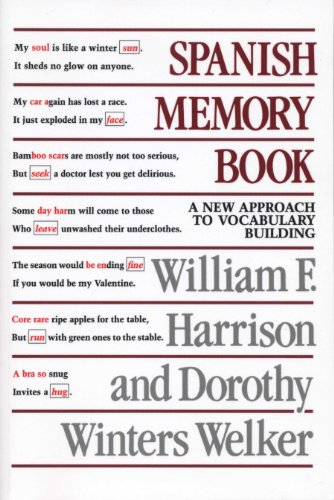 Spanish Memory Book By William F. Harrison