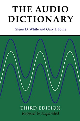 The Audio Dictionary By Glenn D. White