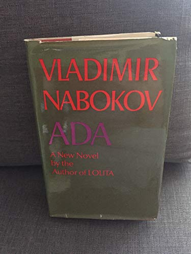 Ada or Ardor By Vladimir Nabokov
