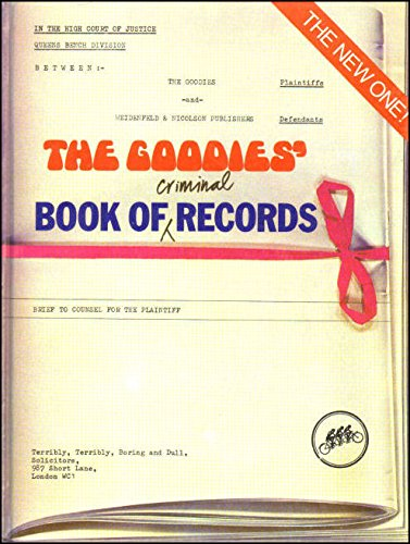 """Book of Criminal Records By """"Goodies,The"""""""