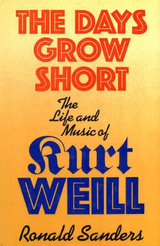 Days Grow Short By Ronald Sanders
