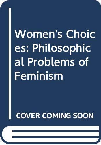 Women's Choices By Mary Midgley