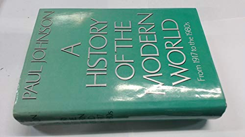 History of the Modern World By Paul Johnson