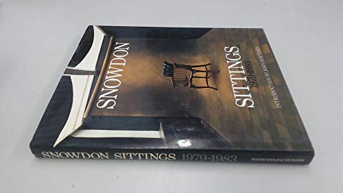 Sittings, 1979-83 By Earl of Antony Armstrong-Jones Snowdon