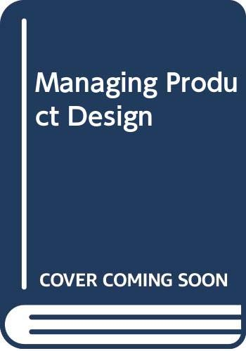 Managing Product Design By Mark Oakley