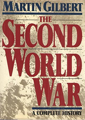 Second World War By Martin Gilbert