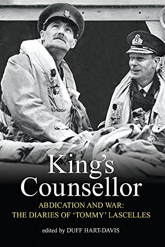 King's Counsellor By Alan Lascelles