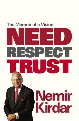 Need, Respect, Trust By Nemir Kirdar