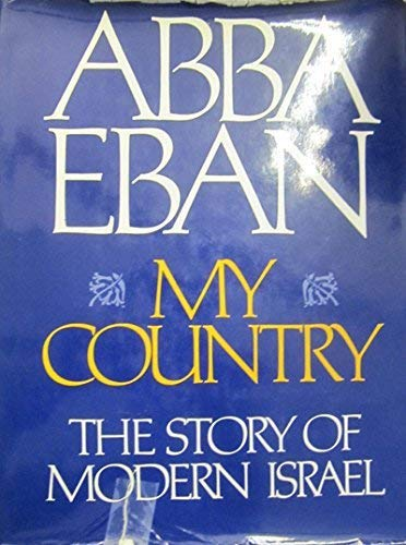 My Country By Abba Eban