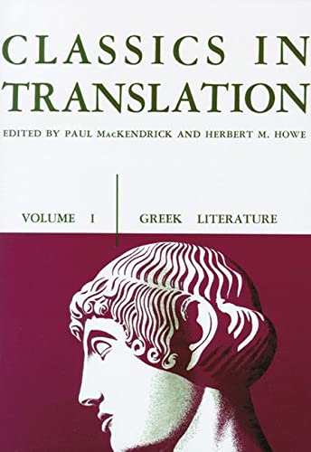 CLASSICS V1 GREEK (P): 001 (Greek Literature)
