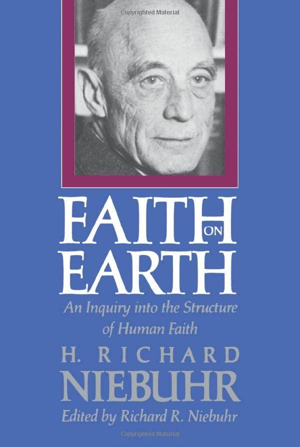 Faith on Earth By H. Richard Niebuhr