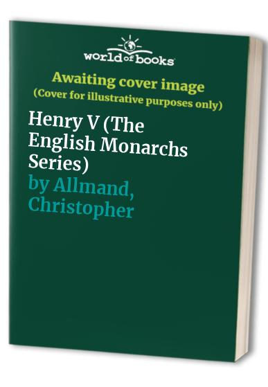 Henry V By Christopher Allmand