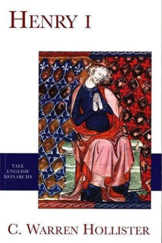 Henry I By C. Warren Hollister