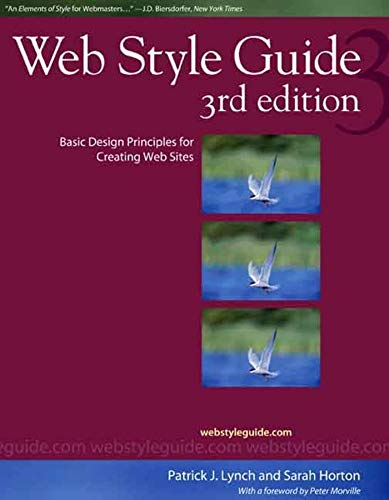 Web Style Guide, 3rd edition By Patrick J. Lynch