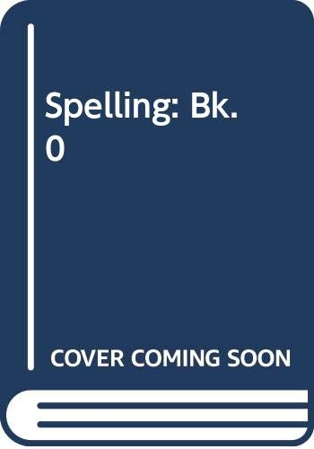 Spelling : Book Nought by John Smith