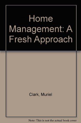 Home Management By Muriel Clark