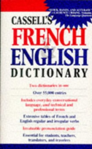 Cassell's French-English, English-French Dictionary By J.H. Douglas